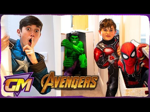 Avengers Kids Hide and Seek!