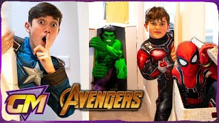Avengers Kids Hide and Seek!