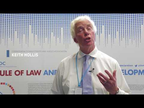 Judicial Integrity: Keith Hollis, Commonwealth Magistrates and Judges Association