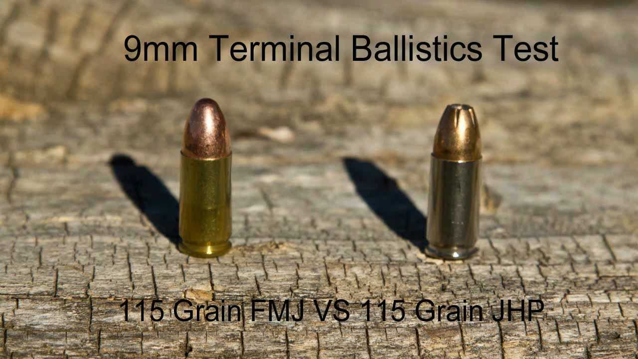 9mm fmj vs jhp test on 5 pound bags of flour with slow mo