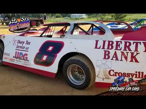 #8 Jessie Hughes - Sportsman - 8-11-18 Fort Payne Motor Speedway - In Car Camera