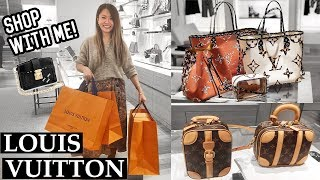 SHOPPING SPREE AT LOUIS VUITTON! 🛍 SHOPPING VLOG | Mel in Melbourne