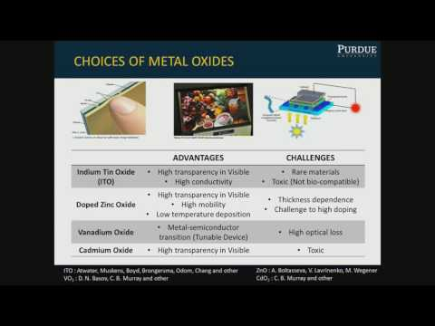 Alexandra Boltasseva: Emerging Materials for Nanophotonics and Plasmonics