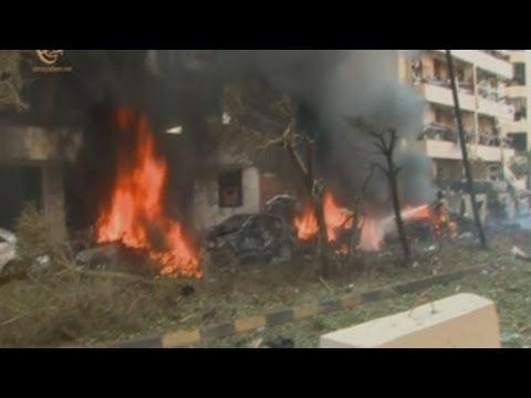 Terrorist suicide bombing at Iranian embassy in Beirut, Lebanon kills 23 people