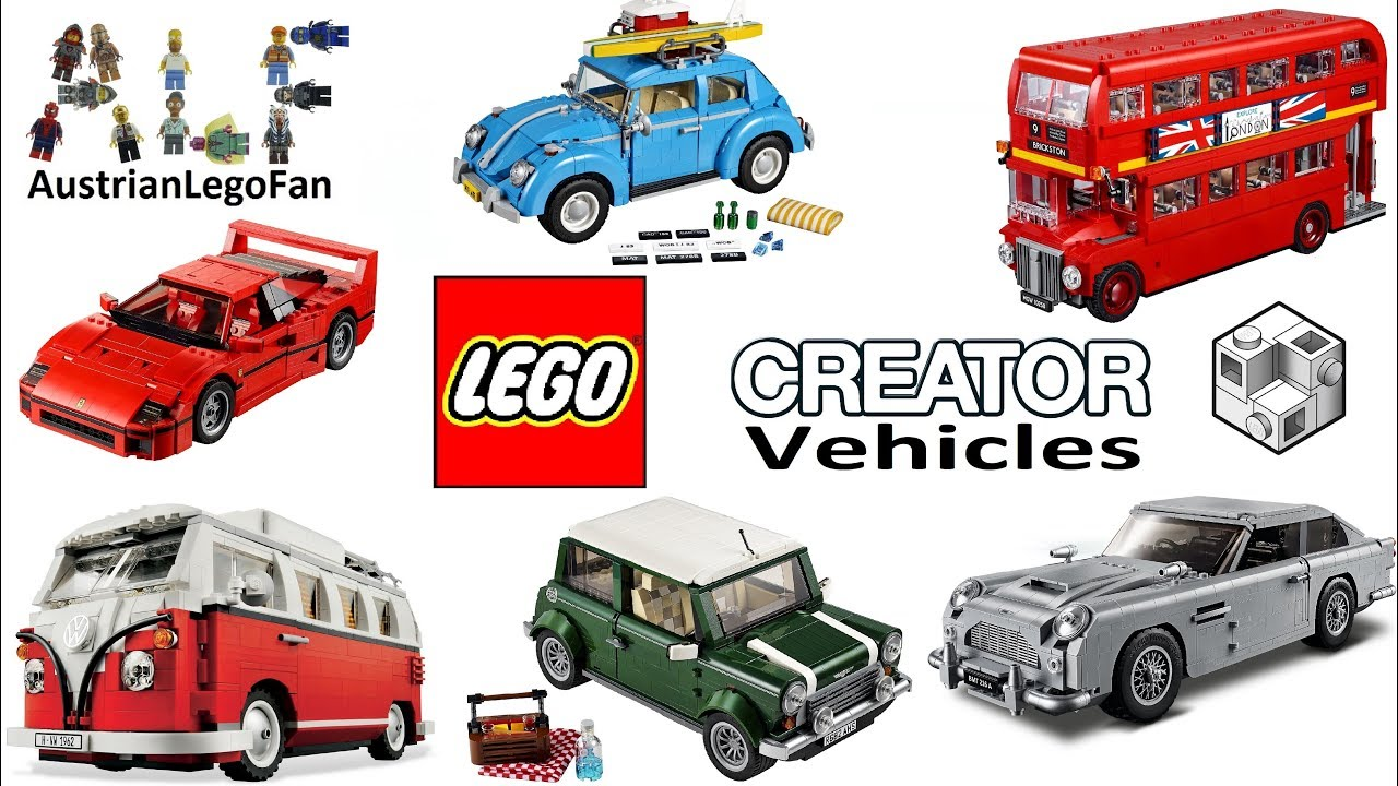 all lego creator expert vehicles 2011 2018 lego speed. Black Bedroom Furniture Sets. Home Design Ideas