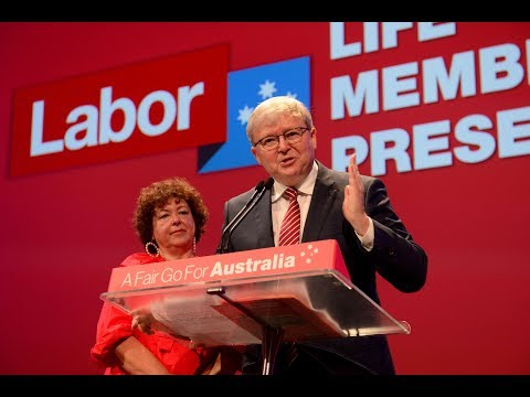 Kevin Rudd - Labor's 48th National Conference