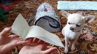 DIY:как сшить летнюю сумку - переноску для собаки или кошки своими руками?))🐶