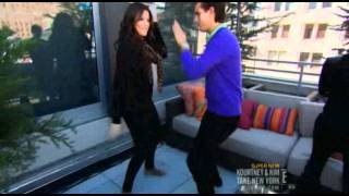 Video KKTNY - Khloe and Scott dancing download MP3, 3GP, MP4, WEBM, AVI, FLV Oktober 2018