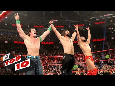 Top 10 Raw moments: WWE Top 10, January 7, 2019