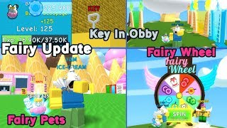 Update! Fairy Pets, Fairy Wheel, New Obbys and Key, New Hats and More!!! - Ice Cream Simulator