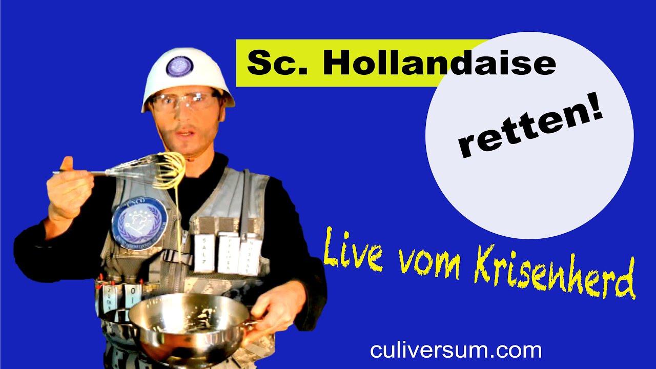 Sauce Hollandaise, selber machen und Erste Hilfe Anleitung. So gelingt sie  immer!