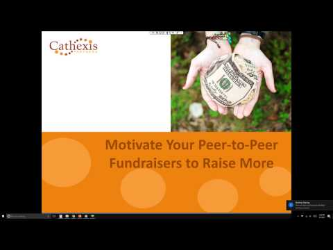 Mark Becker: Motivate Your Peer-to-Peer Fundraisers to Raise More