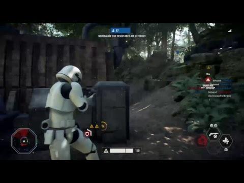 Star Wars Battlefront 2 Live - Ewok Hunt + Customisation are here! - Road to 400 subs