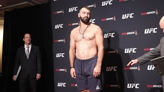 Andrei Arlovski unimpressed with commissioner asking him to undress | UFC 244 Official Weigh-Ins