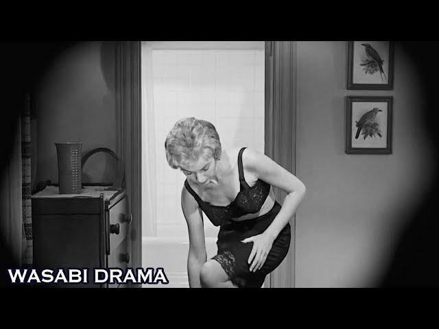 【哇薩比抓馬】女子住旅館被老闆偷窺,洗澡時卻被刺死在浴室,命案能否掀起黑旅館的秘密?《驚魂記》Wasabi Drama