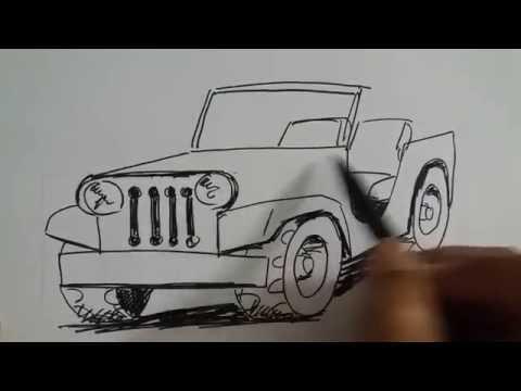 730 Koleksi Mewarnai Gambar Mobil Jeep HD Terbaik