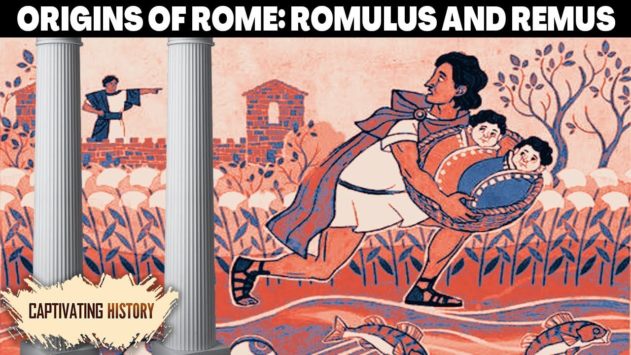 the founding of rome the roman myth of romus and remus animated
