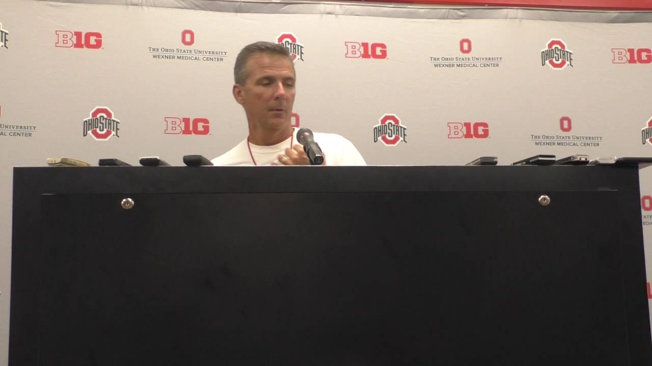 Ohio State head coach Urban Meyer press conference 09/14 ...