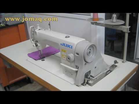 Juki DDL 8700 - with servo motor, silent machine