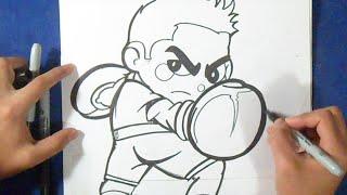 Cómo dibujar a Little mac