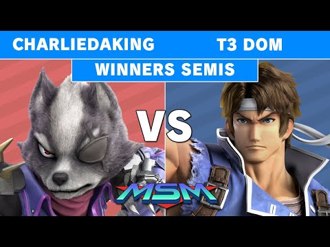 MSM 226 - Charliedaking (Wolf) Vs CG | T3 Dom (Richter) Winners Semi - Smash Ultimate