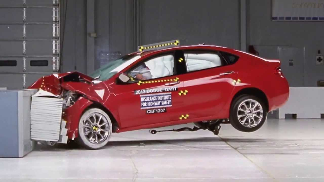 Dodge Dart Safety Ratings >> Iihs 2012 Dodge Dart Frontal And Side Crash Test Good