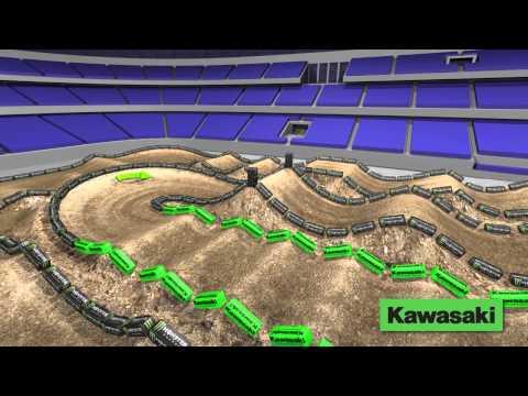 Supercross LIVE 2014 – Arlington 21514 – Monster Energy Supercross Animated Track Map
