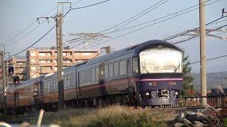 485系和式電車「華」高崎車両センター車 信越本線入線 9721M