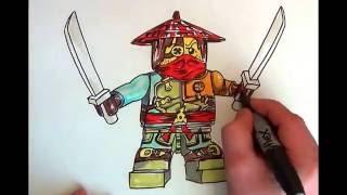 How to Draw NINJAGO #RONIN# LEGO