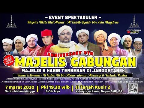 MAULID AKBAR MAJELIS GABUNGAN 8 HABAIB | SOHIBUL MAJELIS ALKIBRIITUL AHMAR