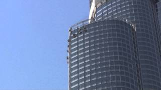 Burj Khalifa: window cleaning