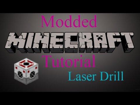 Modded Minecraft Tutorial - Laser Drill