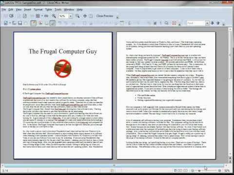 LibreOffice-Writer (23) Special Characters and AutoCorrect part 2