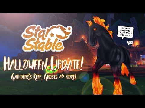 Halloween update: Galloper's Keep, ghosts & more! | Star Stable Updates