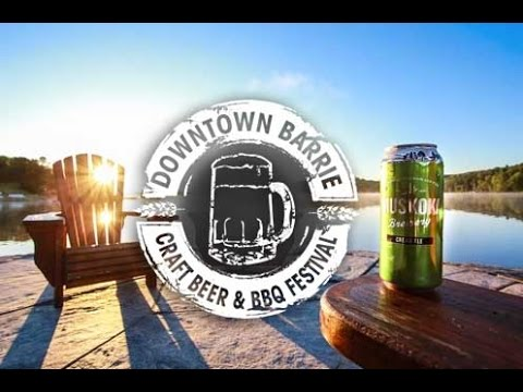 Barrie's 2015 Craft Beer & BBQ Festival