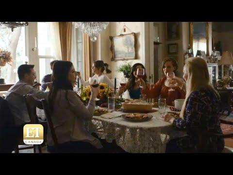 """Sister Cities"" set visit - Stana Katic, Troian Bellisario, Michelle Trachtenberg, Jess Weixler"
