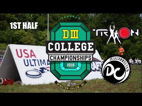 DIII Championships Final   Brandeis vs. Georgia College (1st Half)
