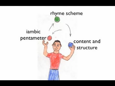 How to write a sonnet - YouTube