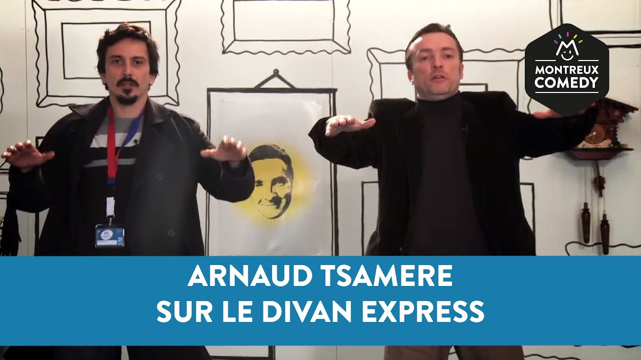 Arnaud Tsamere sur le Divan Express