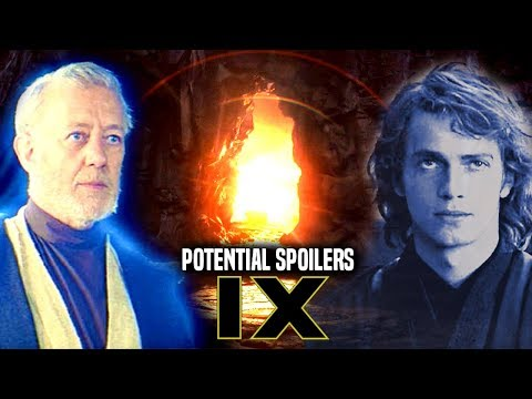 Star Wars! Return Of Anakin & ObiWan In Episode 9! Potential Spoilers & More