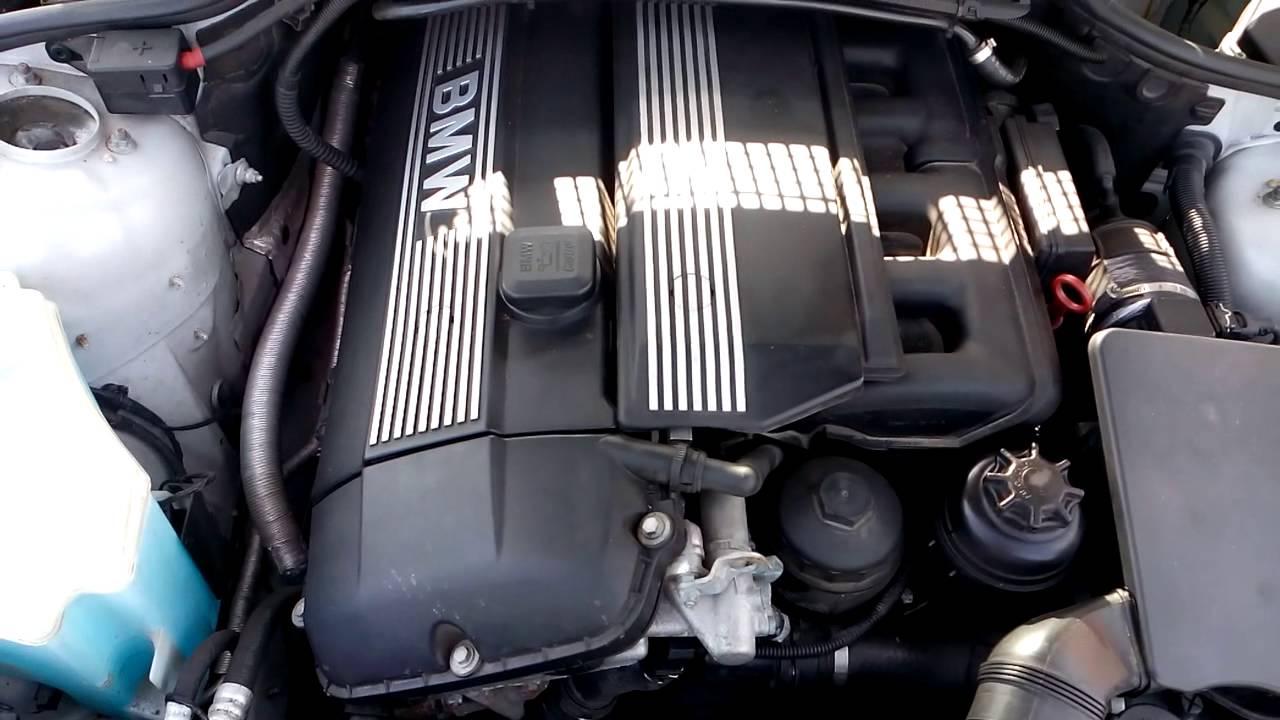 Контрактный двигатель BMW (БМВ) 2.2 M54B22 | Где купить? | Тест мотора
