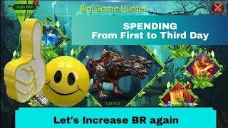 Спадщина розбрату : велика полювання (провівши перший день у третій день) - збільшити БР