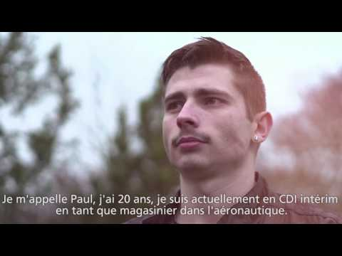 Paul, magasinier aéronautique