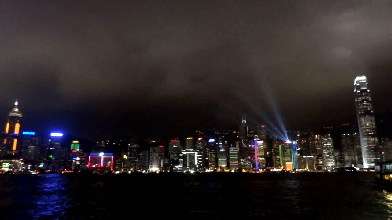 Hong Kong At Night   Symphony Of Lights.
