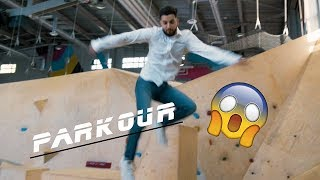 Suleyman testar Parkour ft. Antonija Mandir