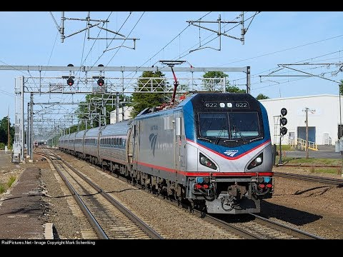 Trainspotting in Old Saybrook CT With Amtrak, SLE, and Providence and Worcester
