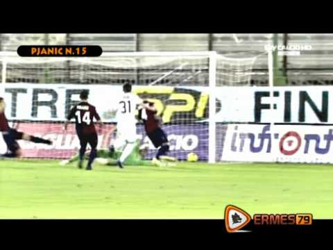 Miralem Pjanic - AS Roma - The Best Of Season 2011/12