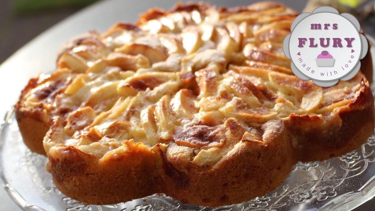 Saftiger Honig Apfel Kuchen Mit Zimt Honey Apple Cinnamon Cake