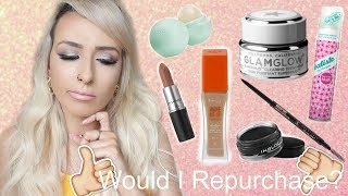 Are these products worth the money? Mini review| What am I throwing away? | DramaticMAC