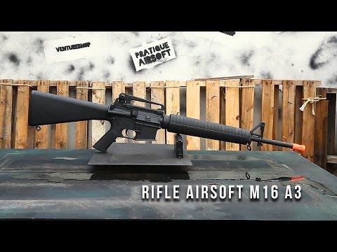 Teste de Desempenho do Rifle de Airsoft M16 A3 CYMA - Ventureshop